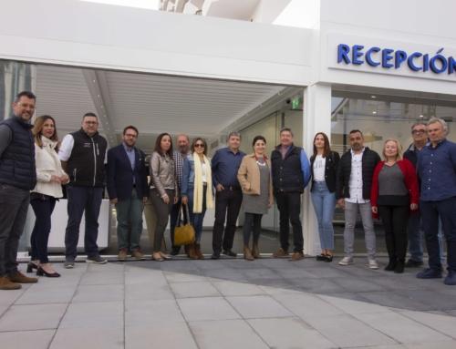 Participantes en la obra del Hotel Prado